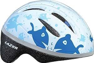 Lazer BOB Infant Helmet: Blue with Fish one size