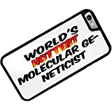 Rubber Case for iphone 6 Worlds hottest Molecular Geneticist - Neonblond
