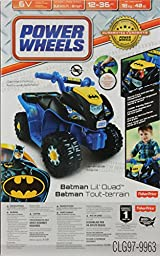 Power Wheels Power Wheels Batman Lil\' Quad