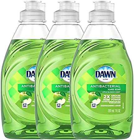 Dawn Ultra Apple Blossom Hand/Dish Soap 7 oz 3-pack