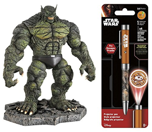 Super Hero Abomination Action Figure & Free Star Wars Projector Pen, Colors may vary Toys