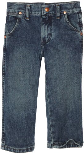 20 X Western Jeans - Wrangler Little Boys' Original Prorodeo Jeans, Subtle Worn, 3T Regular