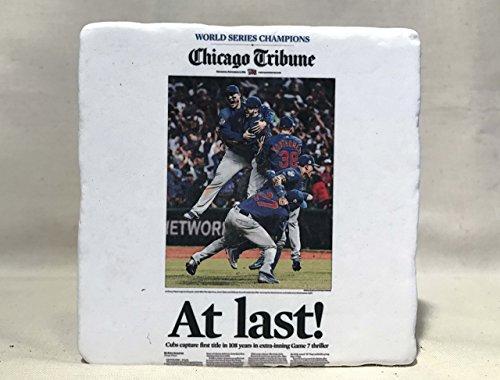 cubs-world-series-headline-at-last-tumbled-marble-coaster