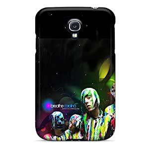 JohnPrimeauMaurice Samsung Galaxy S4 Durable Hard Phone Cases Unique Design Nice Breathe Carolina Series [LdA13626PgpM]