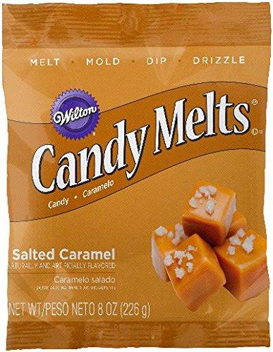 Wilton 1911-9481 Salted Caramel Flavor Candy Melts, 8 OZ. ()