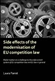 Side Effects of the Modernisationo of EU Competition Law, Laura Parret, 9058506193