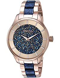 Women's 'Angel' Quartz Stainless Steel Casual Watch, Color:Two Tone (Model: 24662)