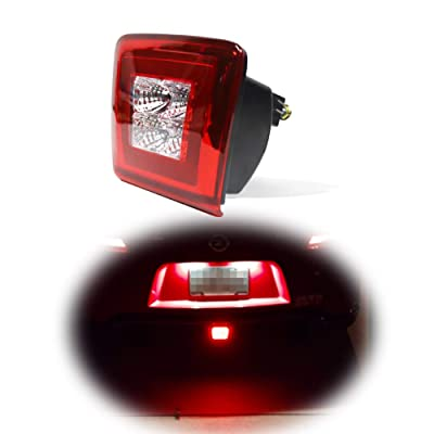 GTINTHEBOX Red Lens Led Rear Fog Brake Light Kit Compatible with 2009-up Nissan 370Z,13-17 Juke Nismo: Automotive