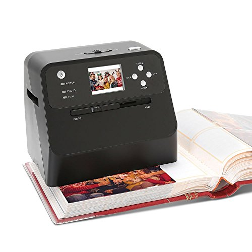 Hammacher Schlemmer Slide Converter - The Rapid Photo Album Scanner