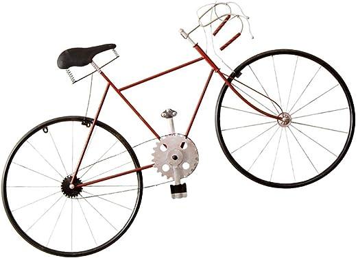 YAGEER Jiujia Vintage Hierro Forjado Bicicleta Pared Creativa ...