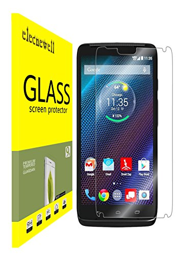 Motorola Droid Turbo XT1254 Screen Protector, NEWELL™ Premium HD 0.26mm 2.5D Tempered Glass Screen Protector (for Motorola Droid Turbo XT1254)