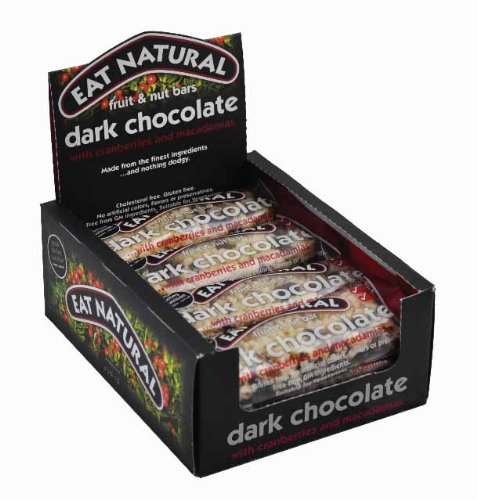 Eat Natural Bars, Cranberry and Macadamia with Dark Chocolate, 12 Count