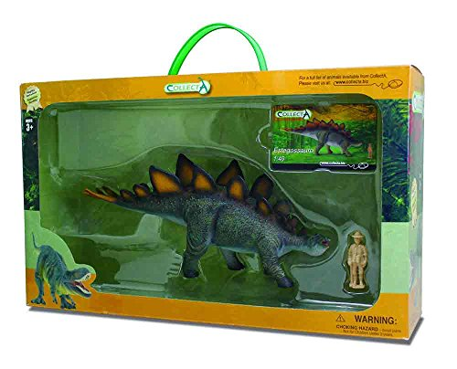 CollectA Stegosaurus Toy in Window Box