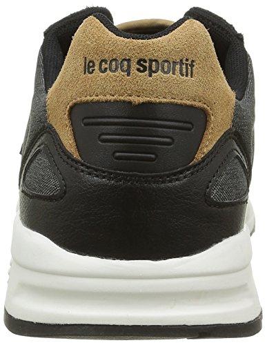 LCS R900 Basses Le 2 Baskets Homme Sportif Noir Black Coq Tones 7wtqxEPS