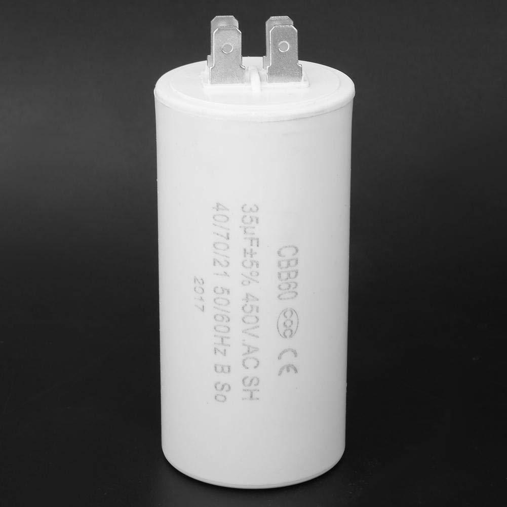 Cbb60 Kondensator Motorstartkondensator 4 Pin 450v 35uf Esr0 2 Motorbetriebskondensator Mikrofarad Kondensator Umweltfreundlich Für Geräte Gewerbe Industrie Wissenschaft