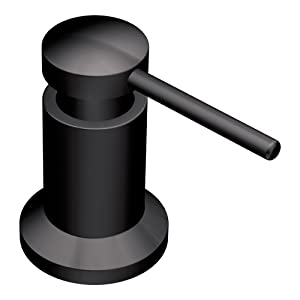 Moen 3942BL Kitchen Soap and Lotion Dispenser, Matte Black