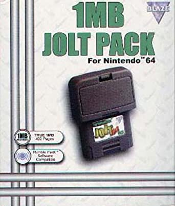 Fire International 1 MB Black Jolt Pack - Memory Card and