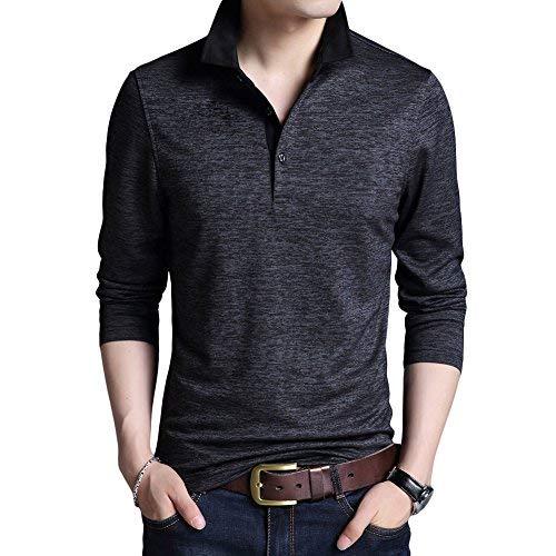 [YFFUSHI] メンズ ポロシャツ polo tシャツ ゴルフウェア S-2XL 無地