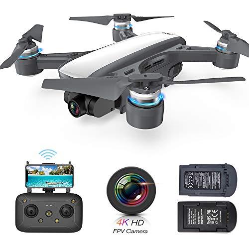 Drone CFLYAI Dream01 with 1080P Camera Live Video 4K Still Photos Mini Drone Stabilized Gimbal Camera FPV Drones GPS Return Home Portable Quadcopter