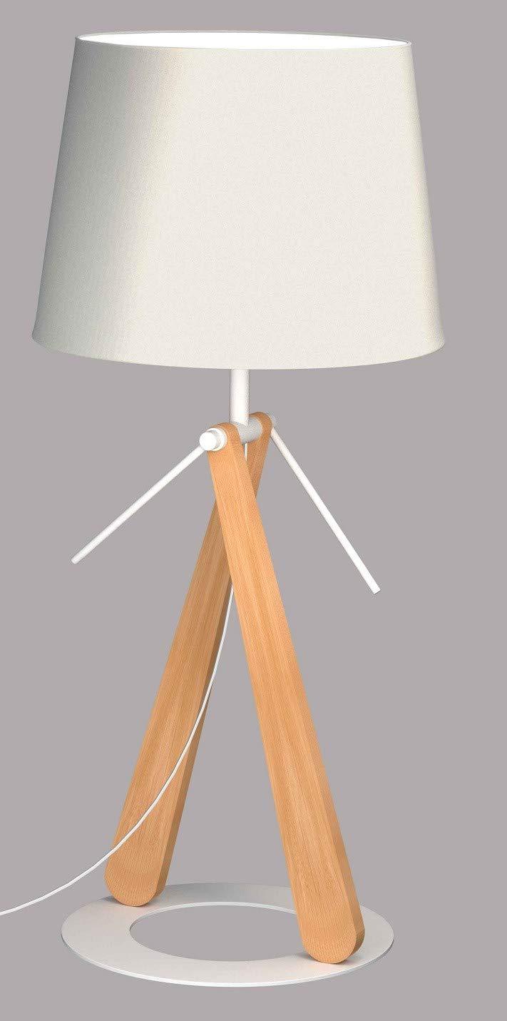 Lampe aus Holz Zazou LT durch Aluminor, Aluminor, Aluminor, weiß B0788R3X8G   München  295bba
