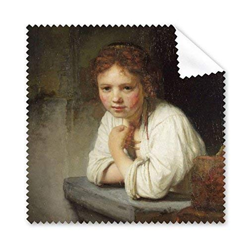 JINGB Maid Rembrandt Harmenszoon Van Rijn Famous Oil Panintings Oils Glasses Cloth Cleaning Cloth Phone Screen Cleaner