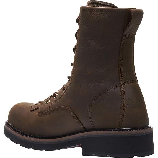 eb99e1d82c6 Amazon.com | Wolverine Men's Ranchero Steel-Toe 8
