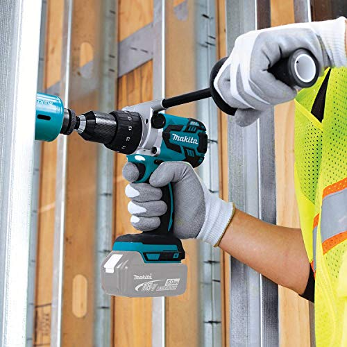 "Makita XPH07Z 18V LXT Lithium-Ion Brushless Cordless 1/2"" Hammer Driver-Drill, Tool Only"