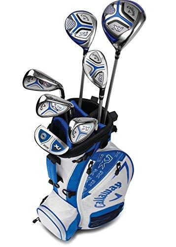 Callaway Golf Xj Junior Golf Set, Level 3, 7 Piece Set, Right Hand, White