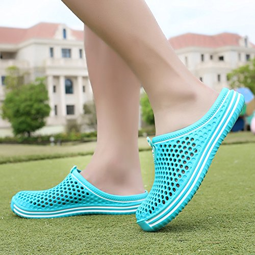 Quick Ryanmay Shoes Comfortable Drying Sandals Garden Mens 03blue Slippers Walking Womens rqwr0p