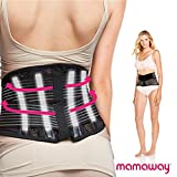 Mamaway Maternity Support Belt - Comfortable for Lower Back & Pelvic Support - Black, Small