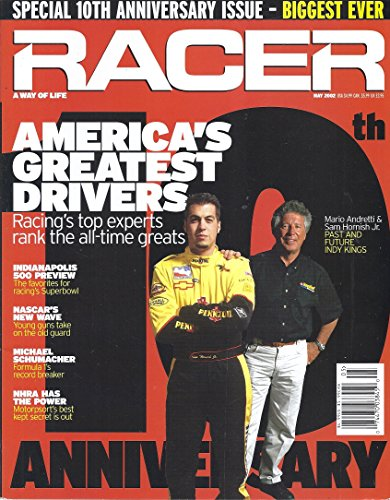 Racers Indianapolis - Racer Magazine (#121 - May 2002 - 10th Anniversary Issue)