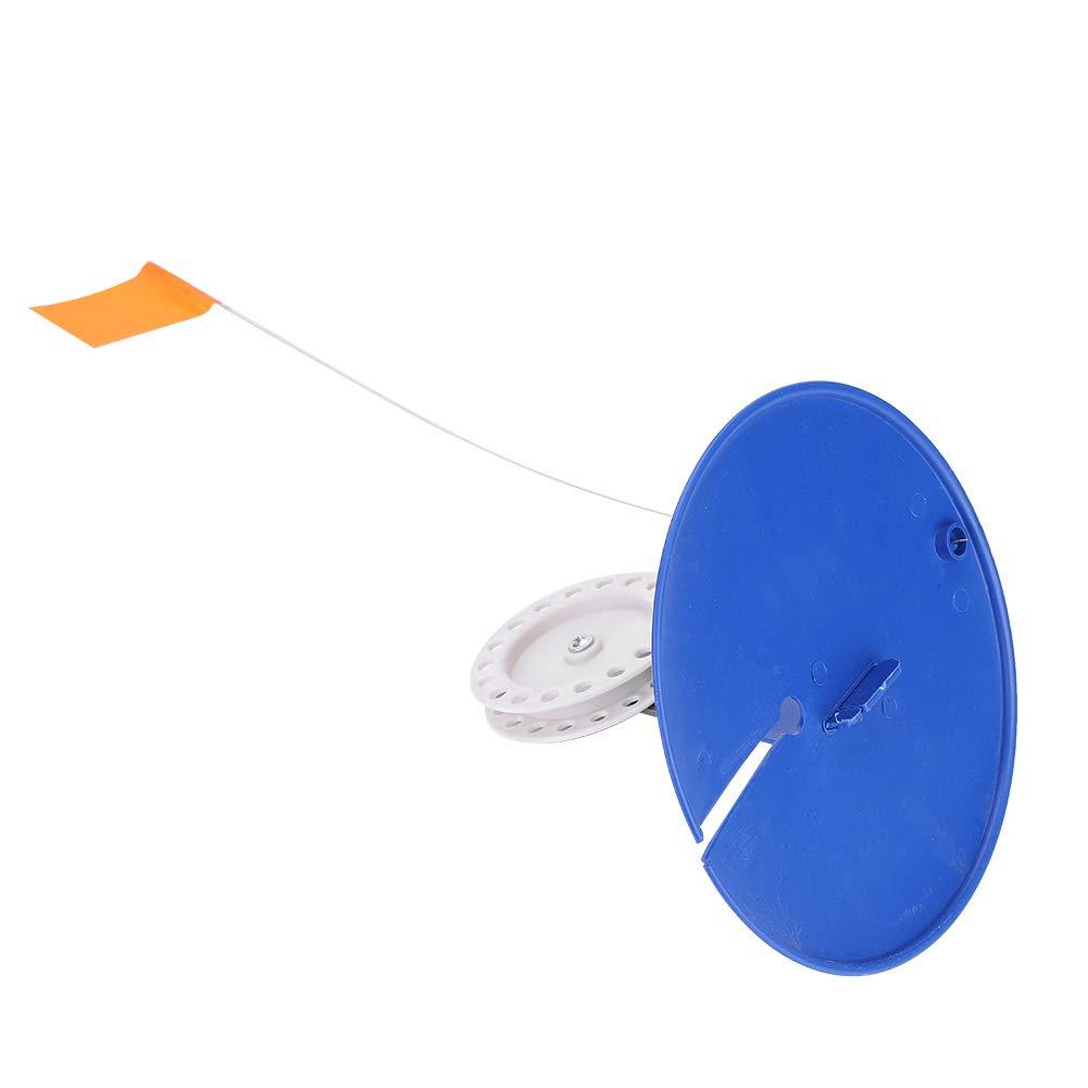 Eisangelrute Tip-Up Kompaktes Angelzubeh/ör f/ür Angler Angelrute Orange Flagge Fishlor 0