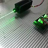 Focusable 100mw 532nm Green Laser Dot Module/Continuous work/5V with TTL