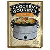Crockery Gourmet Seasoning Mix for Chicken, 2.5-Ounce Packets (Pack of 12)