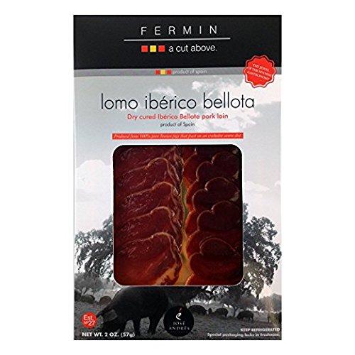 Lomo Iberico Bellota Sliced - 2 Oz