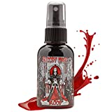 Fake Blood Makeup Spray - For Theater and Costume or Halloween Zombie, Vampire and Monster Dress Up - By Bloody Mary (Medium - 2 oz)