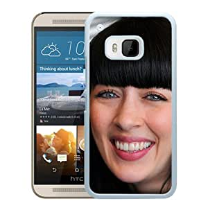Beautiful Designed Cover Case With Nolwenn Leroy Face Smile Teeth Brunette (2) For HTC ONE M9 Phone Case