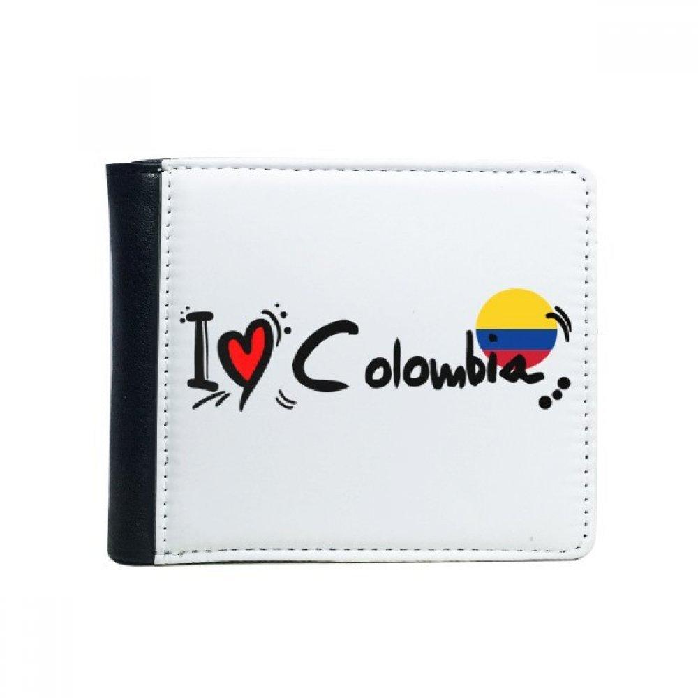 DIYthinker Amo Colombia Palabra Bandera del Amor del corazón ...