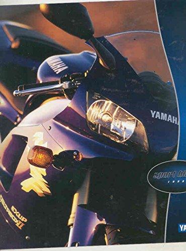 1998 Yamaha YZFR1 1000 YZF750R 750 YZF600R FZR600 SECA 2 600 Brochure