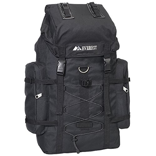 Everest Hiking Pack, Black, One Size