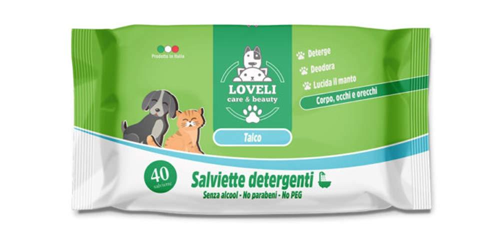 Eudorex Cleaning Lingettes pour Chiens et Chats–40pz–Format XL Loveli