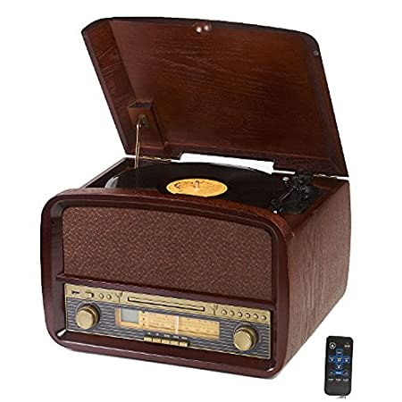 GFEI Multifuncional / LP vinilo / vintage / Retro Tocadiscos ...