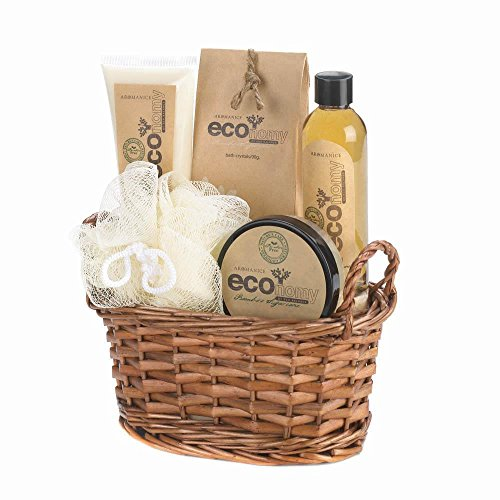 Spa Pleasures Eco-nomy Bath Spa Basket