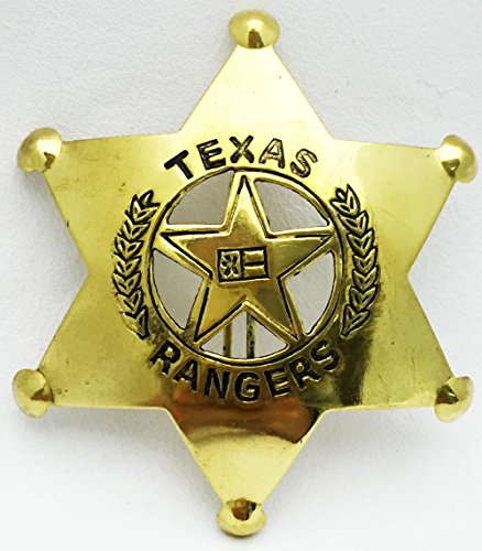 Texas Ranger Brass Badge]()