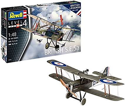 Neu Revell 03907-1//48 British S.E.5A