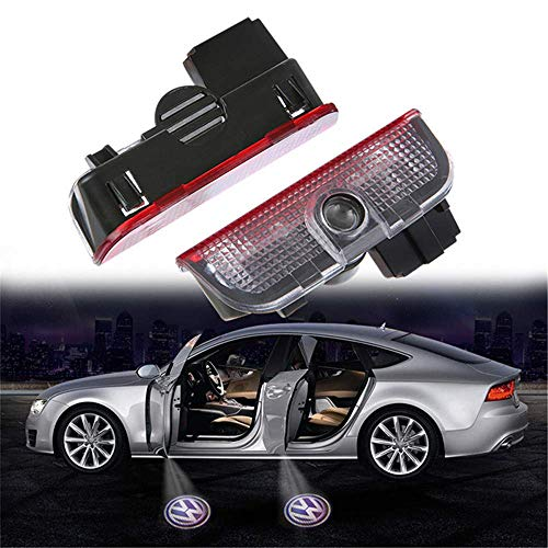 Generous 2/pcs Car Led Door Logo Projector Ghost Shadow Light For Vw For Touareg 2004-2010 Available In Various Designs And Specifications For Your Selection Automobiles & Motorcycles Exterior Accessories