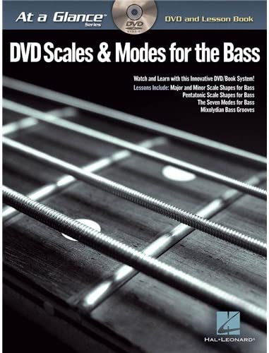 At A Glance - Scales & Modes For Bass. Partituras, DVD (Región 0 ...