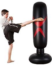 separation shoes 28abe 29c86 KY Punching Sac de Boxe Debout Libre - Sacs de Boxe Robustes pour  Cible Excellent