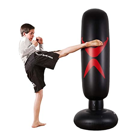 2f96b9973c5bd1 KY Punching Sacco da Boxe da Boxe da Terra - Sacco portapantaloni per  bersagli Pesanti/