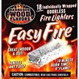 BBQ Wood Flavors Easy Fire Starters, 18 Pack